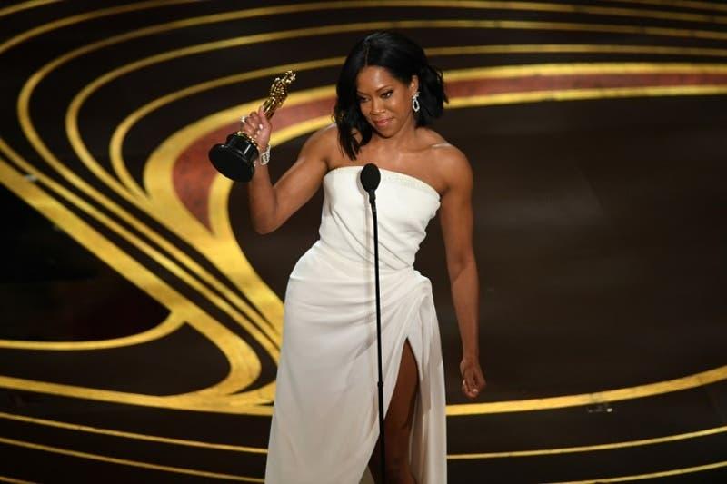 "Regina King gana Óscar a mejor actriz de reparto por ""If Beale Street Could Talk"""