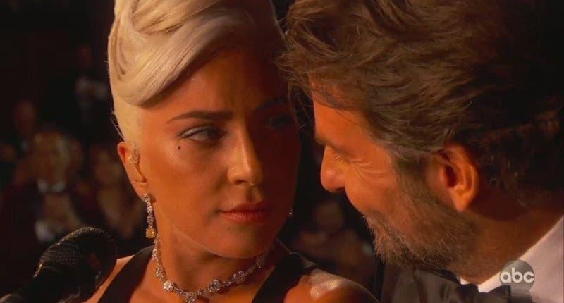 Las divertidas reacciones tras la presentación de Lady Gaga y Bradley Cooper en los Oscar