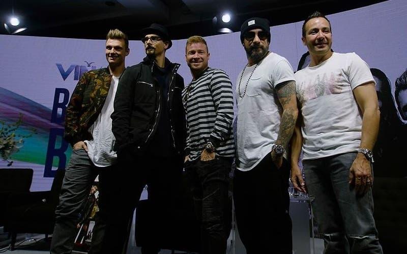 Backstreet Boys están en Chile para presentarse en Viña 2019