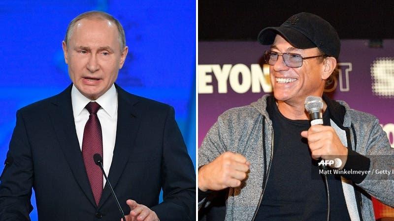 Jean-Claude Van Damme confirma que peleó con Vladimir Putin y entrega detalles del encontrón