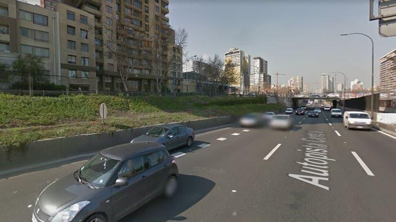 Autopista central, imagen referencial