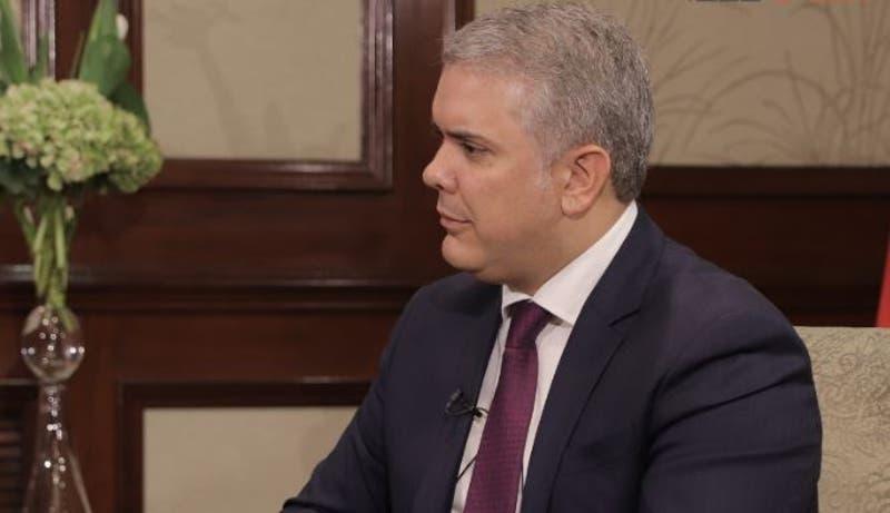 Iván Duque por crisis en Venezuela
