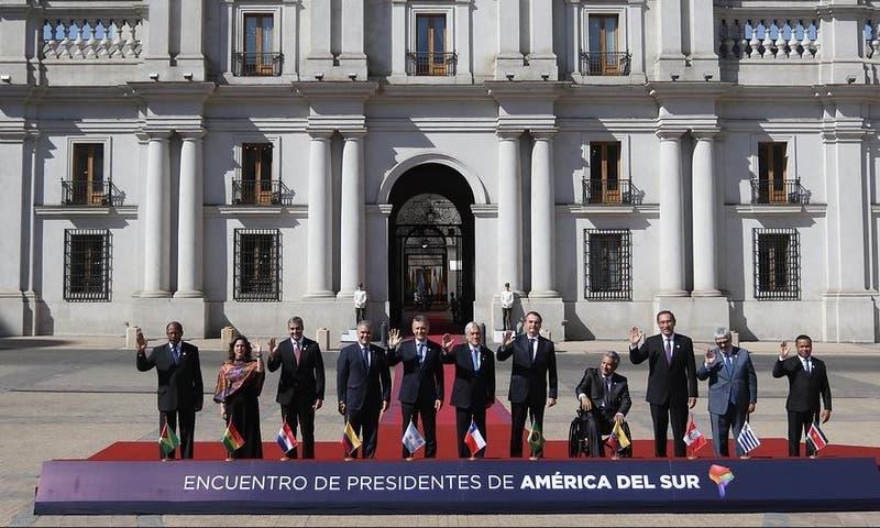 Fotografía oficial presidentes Prosur