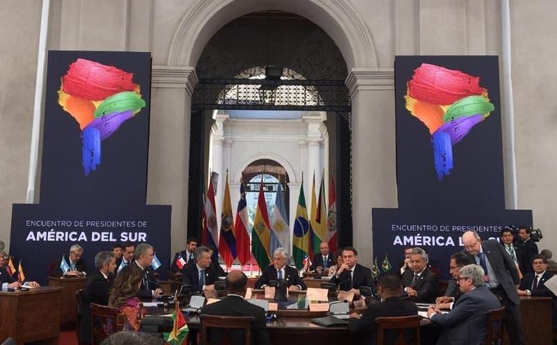 Piñera da inicio a Prosur en La Moneda