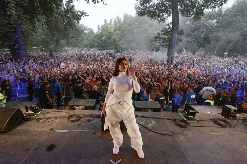 Lollapalooza Chile y Paloma Mami: Era el escenario correcto