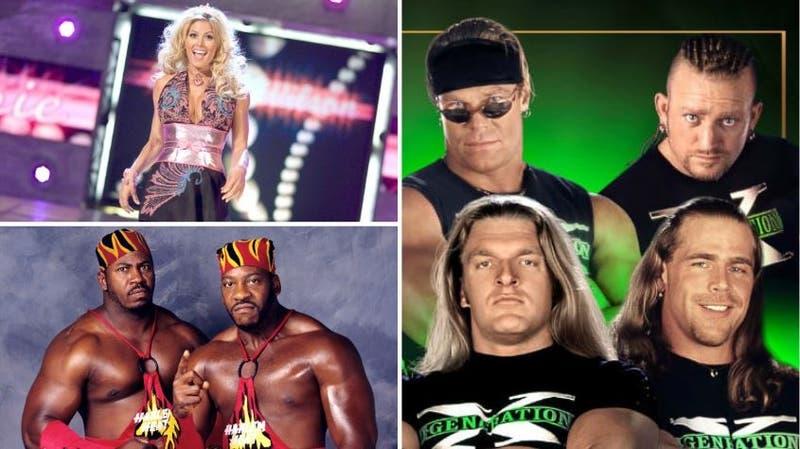 DX encabezó la lista de los nuevos miembros del salón de la fama de WWE este año