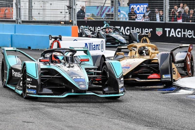 Formula E: Evans triunfa en Roma en primera carrera disputada en pista mojada