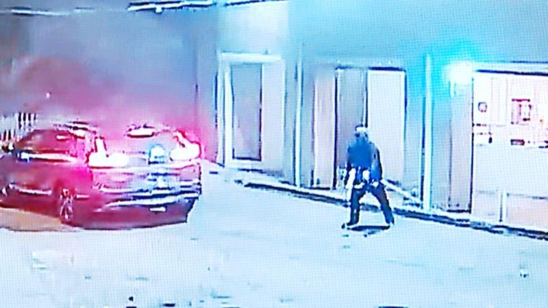 [VIDEO] Violento robo a minimarket en Huechuraba