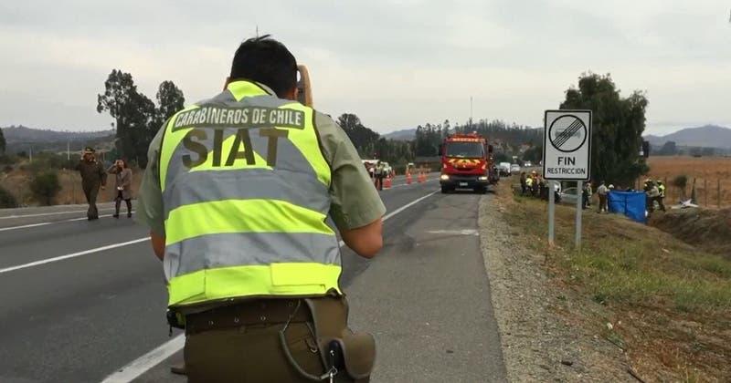 Al menos dos fallecidos tras accidente de tránsito en Casablanca