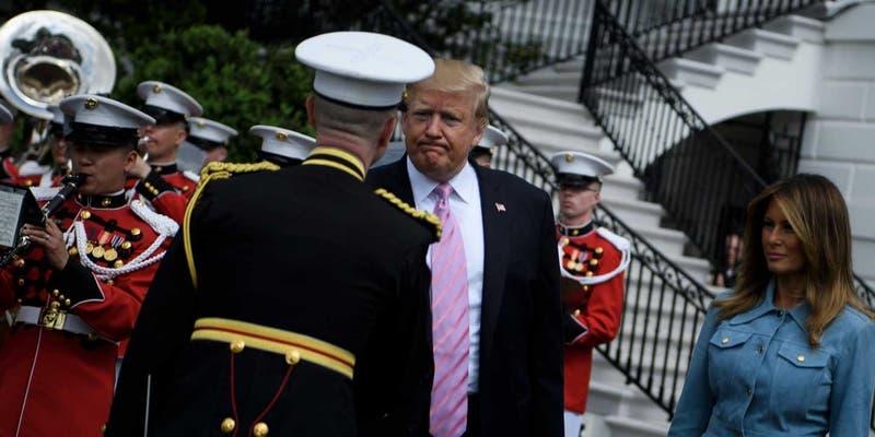 """Trump confirma el envío de """"soldados armados"""" a frontera de EEUU con México"""