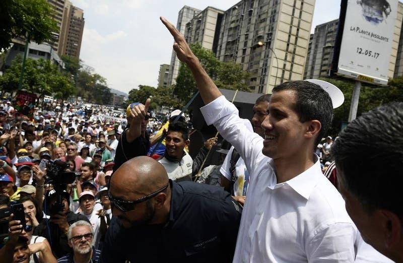 Juan Guaidó se dirige a venezolanos en día del trabajador
