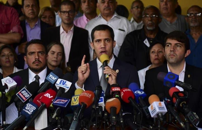 Juan Guaidó habló tras movilizaciones