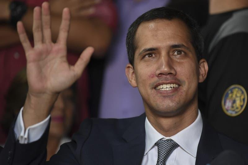 """Guaidó por evaluación de intervención militar de EE. UU: """"Es una gran noticia para Venezuela"""""""
