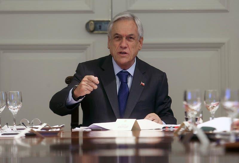 """Presidente Piñera califica como """"un duro golpe"""" a pensionados rechazo a legislar reforma previsional"""