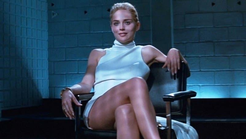 Vogue: Sharon Stone posa en topless y recuerda a Bajos Instintos