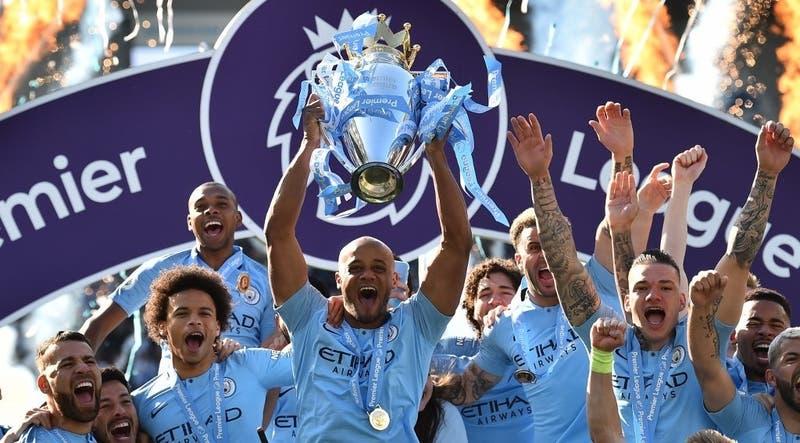 Manchester City se consagra campeón de la Premier League tras ajustada definición