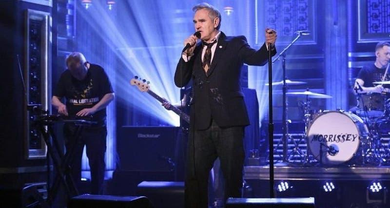 Polémica de Morrissey en show de Fallon por apoyo a For Britain