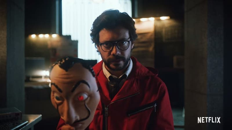 """[VIDEO] El misterioso mensaje de 'El Profesor' en nuevo avance de """"La casa de papel 3"""""""