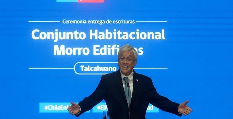 Sebastián Piñera llama al Congreso a aprobar leyes anti violencia