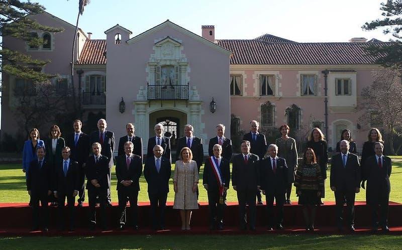 Foto oficial gabinete Cuenta Pública 2018