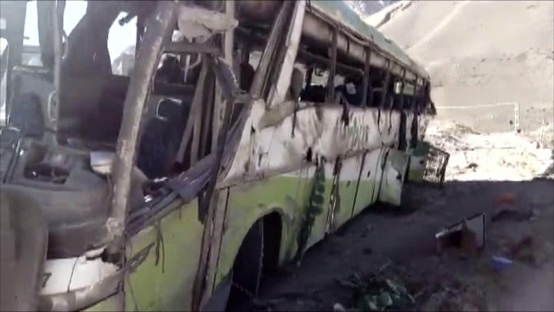 [VIDEO] Turbus que volcó en Agentina hoy circula como bus Condor