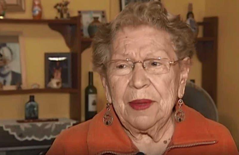 """Murió Cristina Fuentes, la popular """"abuelita Tunick"""" a los 89"""