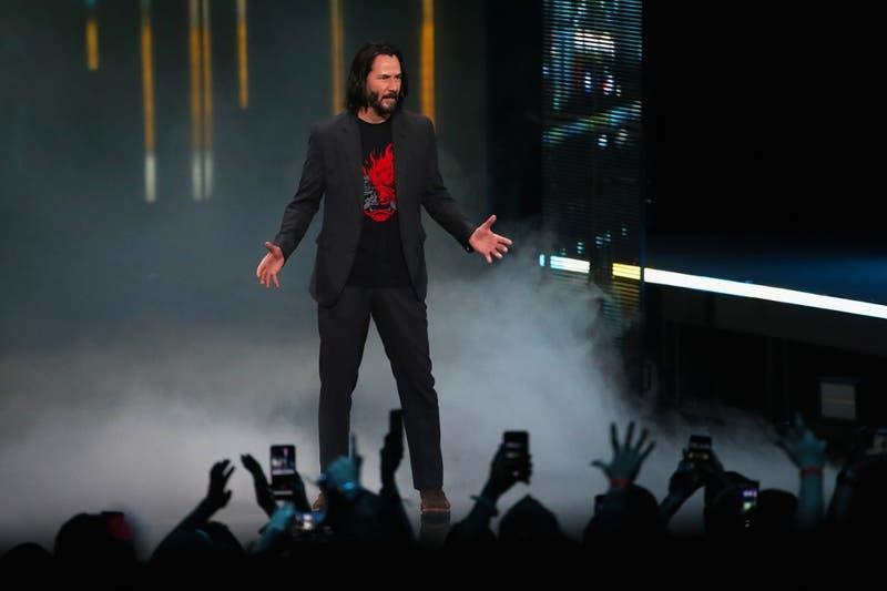 [VIDEO] El hilarante momento que vivió Keane Reeves en su sorprendente aparición en el E3 2019
