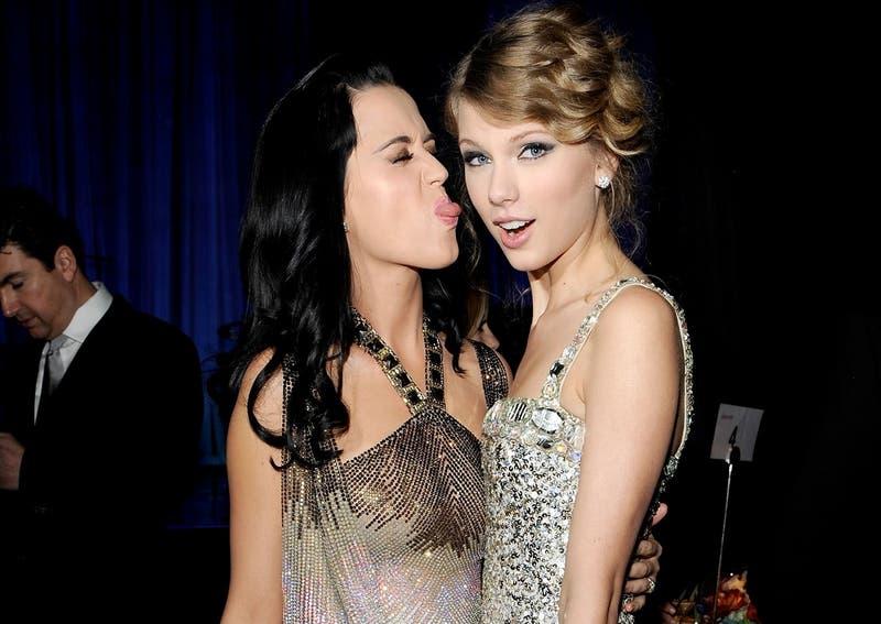 [FOTO] Ya no son enemigas: Katy Perry y Taylor Swift hacen las paces de la forma más inesperada