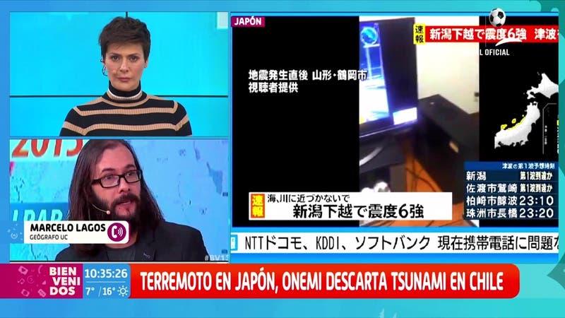 Terremoto en Japón: Marcelo Lagos aclara dudas tras el sismo