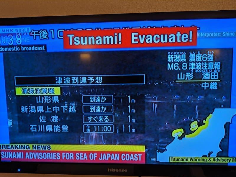 [VIDEO] Chileno en Japón relata cómo vivió el terremoto 6,8