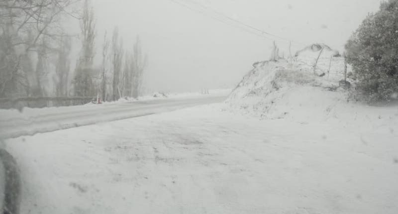 [VIDEO] La nieve embelleció el paisaje en San José de Maipo
