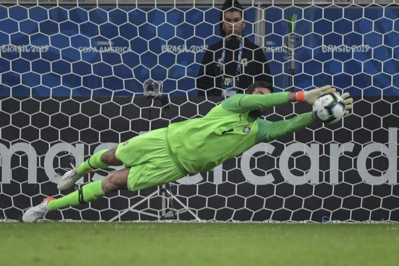 Revive la definición a penales en la que Brasil eliminó a Paraguay de Copa América