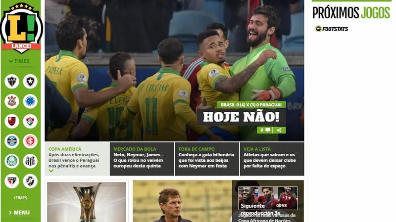 """""""Hoy no"""": Prensa internacional destacó clasificación de Brasil que estuvo al borde de la eliminación"""