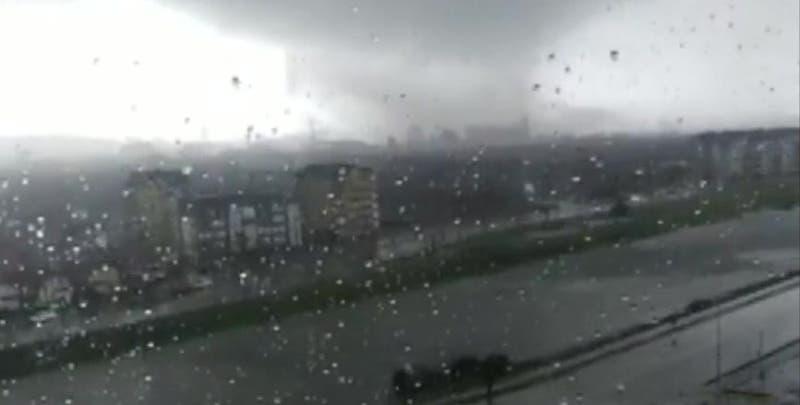 Revelan nuevo registro del tornado que afectó a la región del Biobío