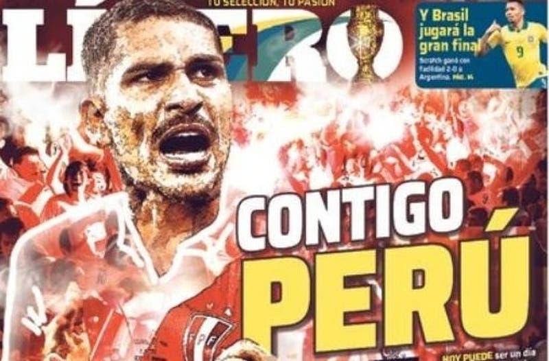 Chile vs. Perú por Copa América: Así amaneció la prensa peruana antes del partido