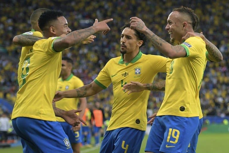 [VIDEO] El golazo de Everton con el que Brasil derrota a Perú en la final de la Copa América