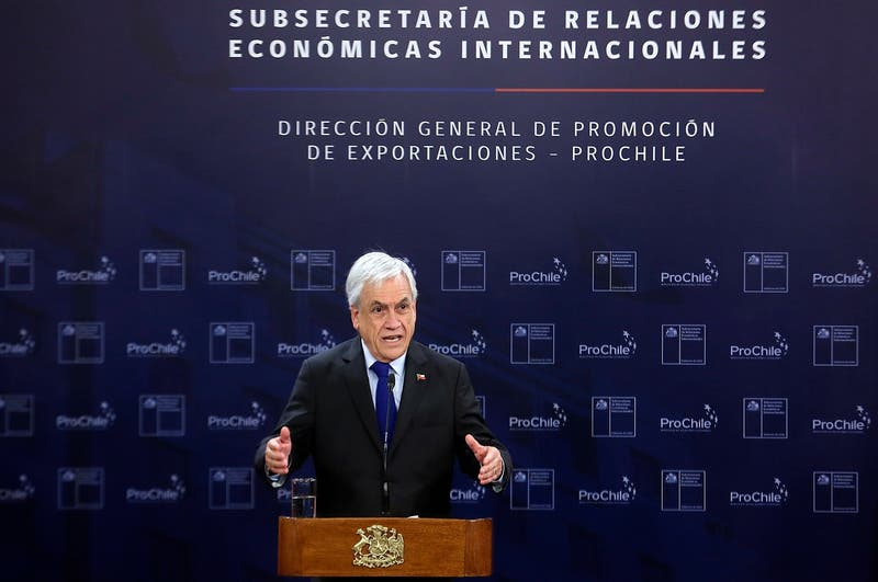 Piñera lanza Subsecretaria Relaciones Económicas Internacionales