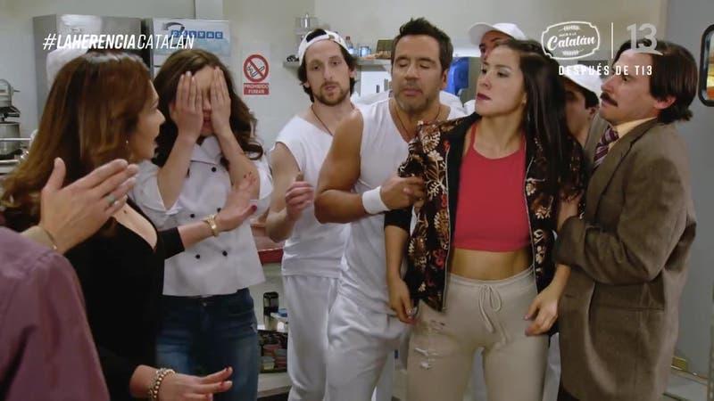 """Loreto Aravena y su curiosa escena en """"Amor a la Catalán"""": Actriz explicó la razón de sus """"tics"""""""