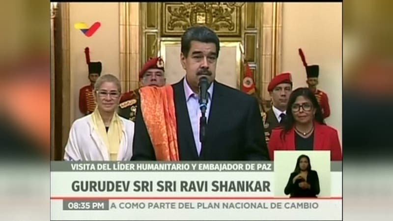"""Nicolás Maduro dijo que el informe de Michelle Bachelet está """"lleno de manipulaciones"""""""