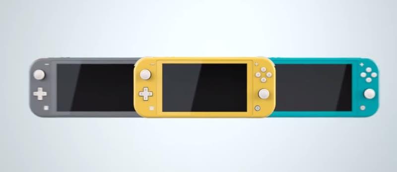 La Nintendo Switch Lite llegará en septiembre y será más barata