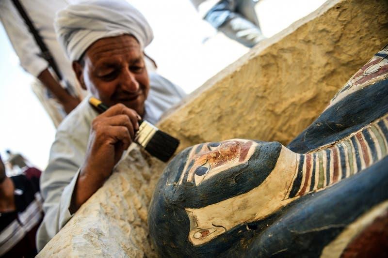 [VIDEO] Egipto abre al público dos nuevas pirámides