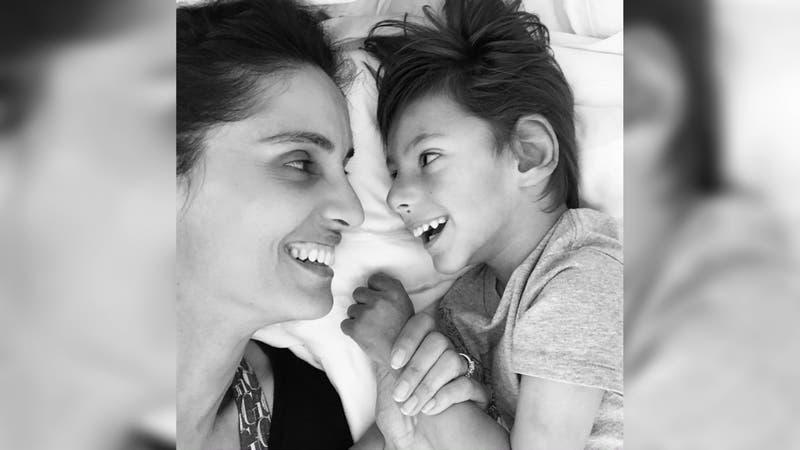 """""""Estás conmigo a cada instante"""": El mensaje de Leonor Varela a 8 meses de la muerte de su hijo"""