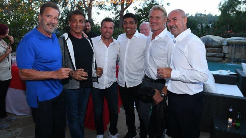 """[FOTOS] Bayern Munich comparte con """"Rocky"""" y """"Terminator"""" en California"""