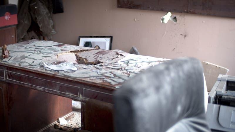 [VIDEO] El comisario que pudo perder la vida tras explosión en comisaría