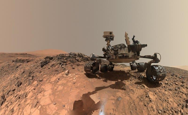 Saludos marcianos: Así se ve la Tierra desde Marte después de un atardecer