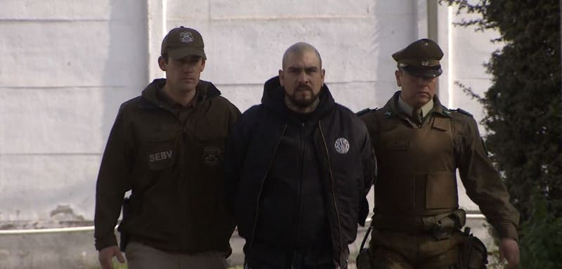 "PDI detiene a ""El Bestia"" Cristofer Hidalgo"