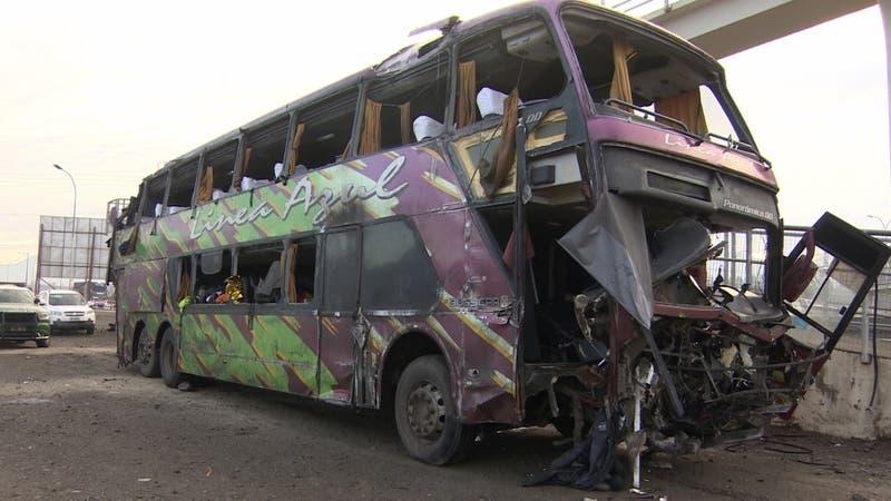 Dueño de empresa de buses Línea Azul dice que colaborará con fiscalía