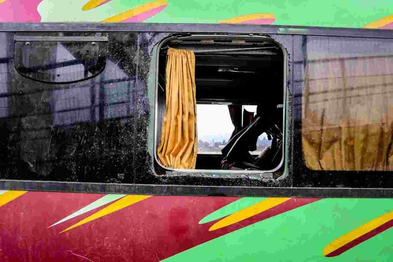 Dueño de empresa Línea Azul es detenido tras accidente de bus