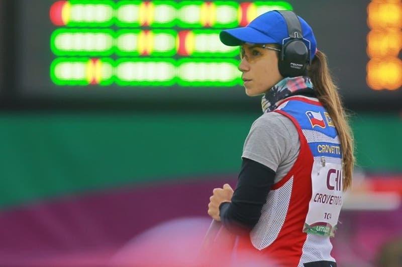 Francisca Crovetto clasifica a la final del tiro skeet femenino en Lima 2019