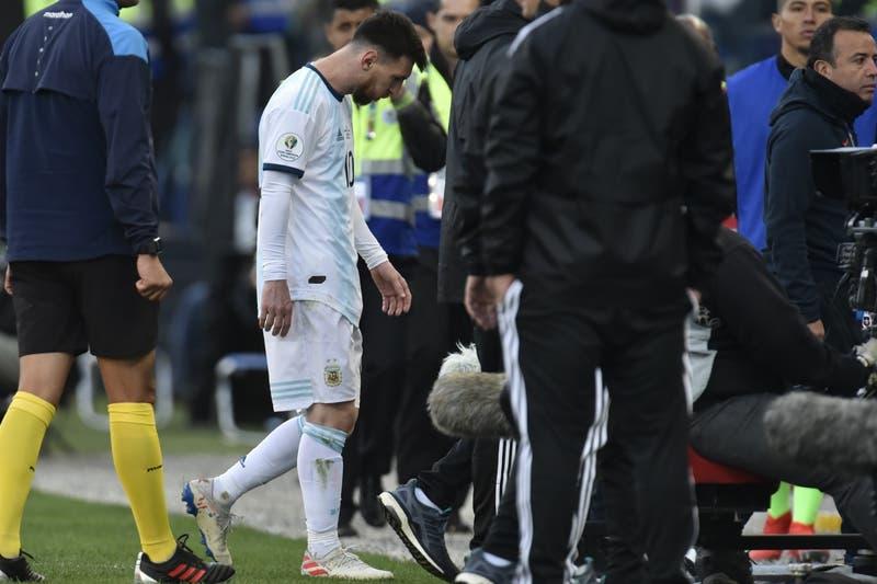 Conmebol suspende a Lionel Messi por tres meses tras sus declaraciones en Copa América
